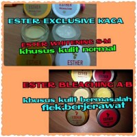 CREAM ESTER KACA | CREAM ESTHER EXCLUSIVE | CREAM ESTER BPOM