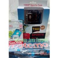 Sports Cam W8 Wifi 1080P H.264 Full HD, Mirip GoPro / SJCAM