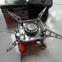 Jual kompor mini kompor kemping kompor camping portable mini kovab K-202 Murah