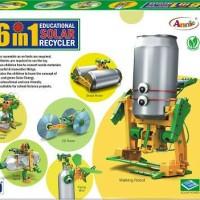 Jual Mainan Edukasi 6 In 1 Solar Robot Recycler Murah