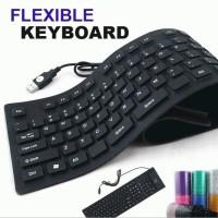 Keyboard Mini Flexibel USB Portable For Laptop or Komputer Murah