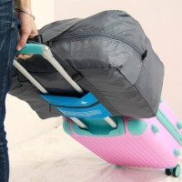 45 FOLDABLE TRAVEL BAG /HAND CARRY TAS LIPAT / KOPER LUGGAGE ORGANIZER