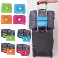 Jual 45 FOLDABLE TRAVEL BAG /HAND CARRY TAS LIPAT / KOPER LUGGAGE ORGANIZER Murah