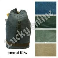 tas ransel 6024/kanvas/distro/fashion/sekolah/import