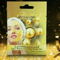 Vienna Anti Aging Face Mask Luxurious Gold 20 Gram (Masker Emas)