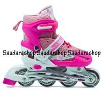 Sepatu Roda / Sepatu Roda Inline /Sepatu Roda Power Super Pink