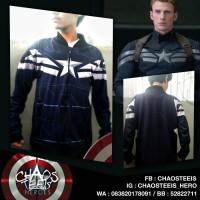 harga Jaket Captain America Winter Soldier Stealth Suit Tokopedia.com