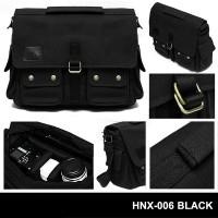 Jual Tas Kamera Slempang HNX-006 Black HONX Sling Bag Messenger Murah