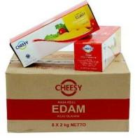 Keju Edam Cheesy 2kg