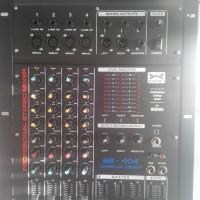 Mixer Audio BLACKBELT BB 404 (RHEMA) 4 CHANNEL