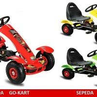 harga Sepeda Mobil Gokart Mainan Anak Pedal Bike Tokopedia.com