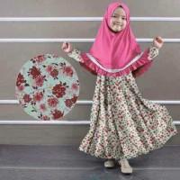 D- baju muslim anak | pakaian anak | dress anak | nikita baju muslim