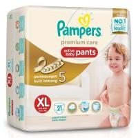 Jual Pampers Premium Care Active Baby Pants XL 21 / XL21 Popok Ultra Tipis Murah
