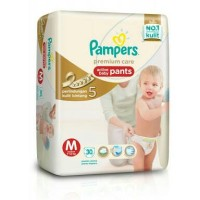 Jual Pampers Premium Care Active Baby Pants M 30 / M30 Popok Ultra Tipis Murah
