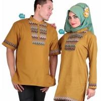 baju muslim couple baju koko pria baju gamis wanita GOL INDONESIA