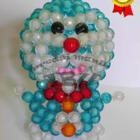 Jual Hiasan Boneka Doraemon dari Manik Ukuran Besar Murah