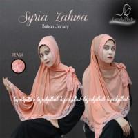 Hijab | Kerudung | Jilbab | Khimar Syar'i Syria Zahwa | Syria Renda