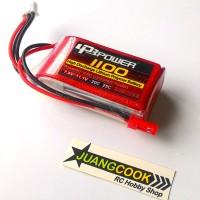 Baterai Lipo LPB 2S 7.4v 1100mah 25C for Radiolink RC4G RC3S MT4