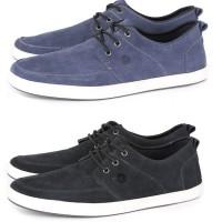 harga sepatu casual pria kulit suede / sepatu cowok sekolah main santai gco. Tokopedia.com