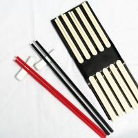 Sumpit / Chopstick Melamin / Melamine Warna - Hitam / Putih / Merah