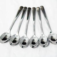 Sendok Teh / Spoon / Teaspoon Elegant Stainless Steel Polos - 6 pcs