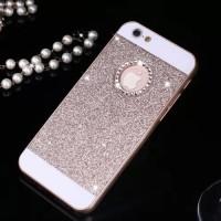 harga Iphone 5 / 5s iPhone5 / iPhone5s Hard Case Hardcase Bling Diamond Gold Tokopedia.com