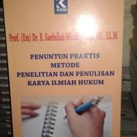 Penuntun Praktis Metode Penelitian & Penulisan Karya Ilmiah Hukum