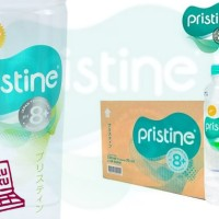 Pristine 8+ 400ml 1carton Isi 24botol Mineral Water Ionisasi