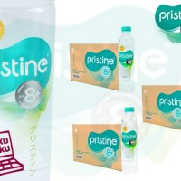 Pristine 8+ 400ml 3carton Isi 72botol Mineral Water Ionisasi