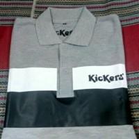 baju kerah kickers