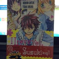 komik i love you suzuki kun 15 + love notes
