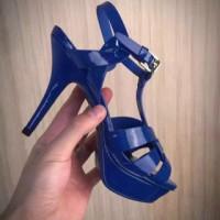 Ysl Heels Tribute Blue Furnish Mirror Quality
