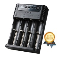Xtar XP4 Intelligent Battery Charger 4 Slot for Li-ion and Ni-Mh