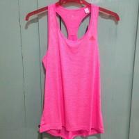 harga Adidas BF Performance Crush Tank Top Women Pink Sz L. Baju Olahraga Tokopedia.com