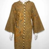 Dress Batik Jumbo / Dress Batik Sogan / Tunik Batik XXL 3L