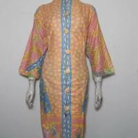 Dress Batik Jumbo XXL / Tunik Batik Wanita 3L / Dress Kantor Salem