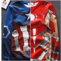 Sweater Captain America & Iron Man - Civil War