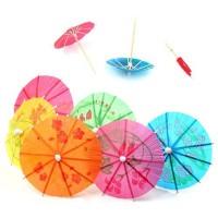 Tusuk Gigi Payung Dekorasi Parasol Garnish Garnis Topper Kue Minuman