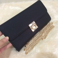 Dompet wanita branded bag cantik keren, Clutch salvatore ferragamo