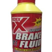 Redex DOT 3 Brake Fluid - Minyak Rem Merah Netral 300 ml Original