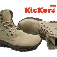 Sepatu Kickers Boot Delta High Safety Cream