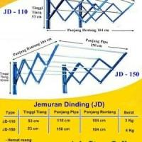Jemuran Dinding JD-150 Fortuna