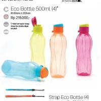 Eco Bottle 500 ml New Flip top / tupperware botol