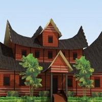 harga DIY Miniatur Rumah Gadang Rumah Adat Minangkabau Tokopedia.com