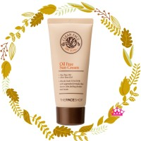 The Face Shop - Clean Face Oil Free Sun Cream / 50ml