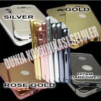 "Hard Case ""Bumper Slide Mirror Metal"" Samsung Galaxy Note 2"
