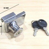 Kunci Lemari Kaca / Etalase Double J417