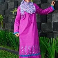 Gamis Nibras Cantik Busana Muslim NB 34 35 36 37 38