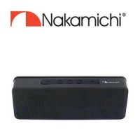NAKAMICHI NBS 723 BLACK SPEAKER BLUETOOTH ORIGINAL 100% GRS 1TAHUN