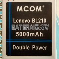 Baterai Double Power Lenovo S820 S650 A536 BL-210 BL210 Mcom 5000Mah